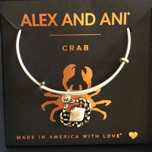 Alex and Ani crab bracelet, new with tags